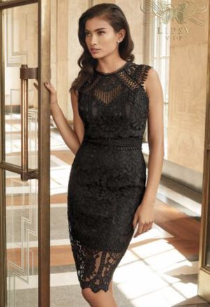 Black Lace Dress for Sale in Los Angeles, CA
