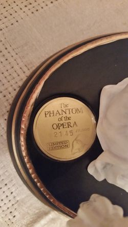 The Phantom of the Opera porcelain music box.- Holmdel NJ Thumbnail