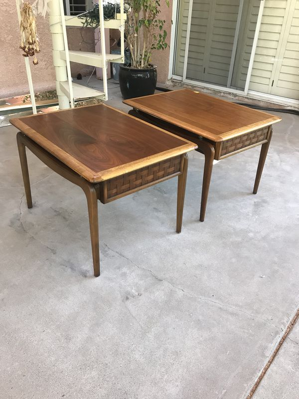 Mid Century Modern Walnut Side Tables By Lane For In San Go Ca Offerup