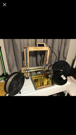"Used, MakerFarm 10"" Prusa 10"" i3v Kit (V-Slot Extrusion) - 3d printer for sale  Rogers, AR"