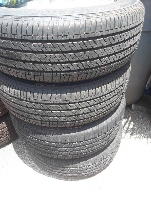 215 65 16 set of 4 toyota sienna tires 320 as is