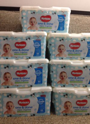 7 Packs HUGGIES Wipes. Please See All The Pictures and Read the description for Sale in Alexandria, VA