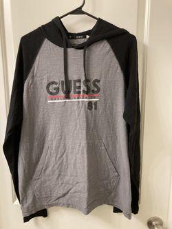 Guess lightweight hoodie Thumbnail