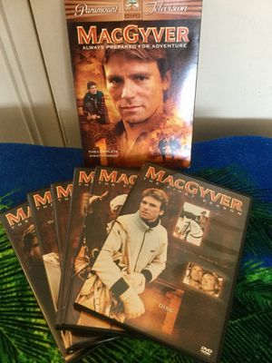 😎👍. 🎥📀 💿 The Complete 1 st Season 6 DVD disc Movies / MacGyver Ready for Adventure / Check Eva's OfferUp page for Sale in Alexandria, VA