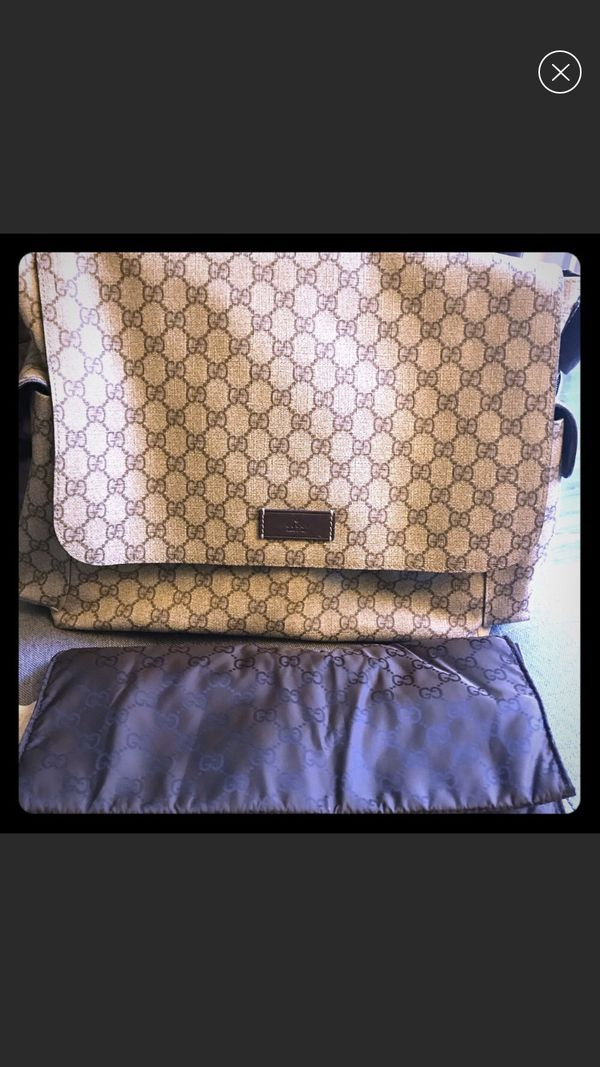 d6ca557bf Authentic Gucci GG Plus Diaper Bag for Sale in West Covina, CA - OfferUp