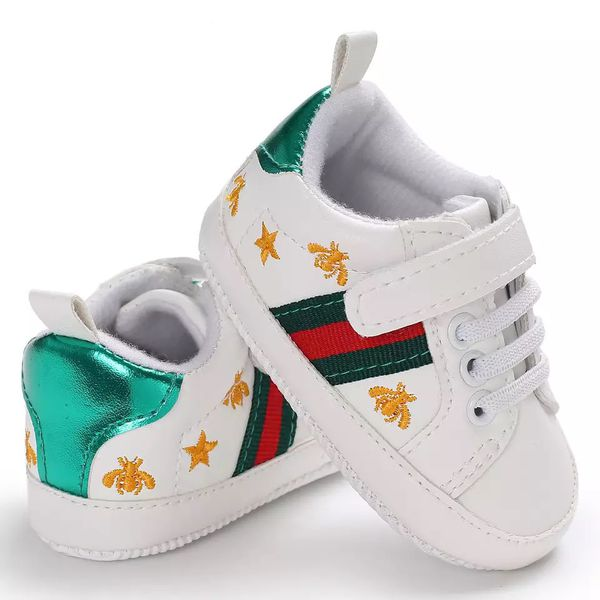 d78c5d13e Gucci 2019 new bee love Baby Boys Girls Soft Sole Crib Shoes PU Leather  Anti-slip Shoes Toddler Sneakers. Size 3 . And 2 .and 1. For3-6. 6-9m and  12m