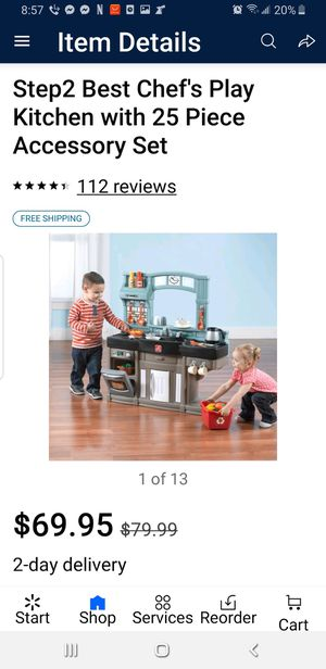 Photo Step 2 chef play Kitchen