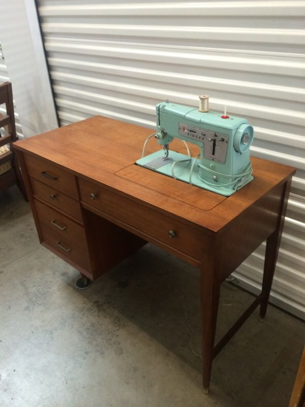 Singer Sewing Machinemid Century Cabinet For Sale In Santa Ana CA Impressive Singer Sewing Machine Cabinet 1960