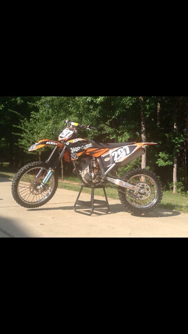 2008 ktm 250 SXF