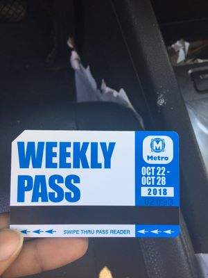 Weekly pass for Sale in St. Louis, MO