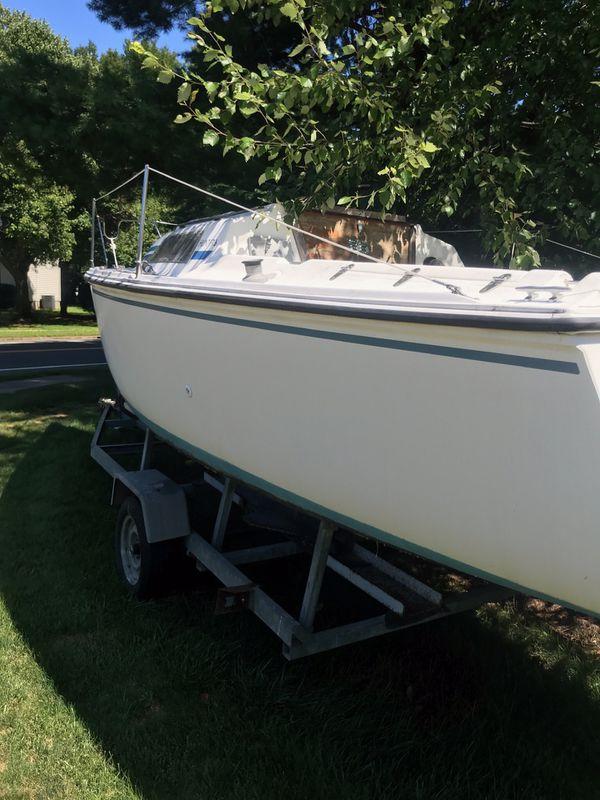 1988 hunter 23 foot sloop sailboat
