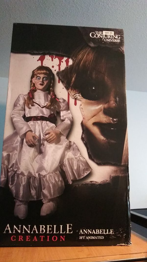 Motion Activated 3Ft  Tall ANNABELLE DOLL for Sale in San Francisco, CA -  OfferUp