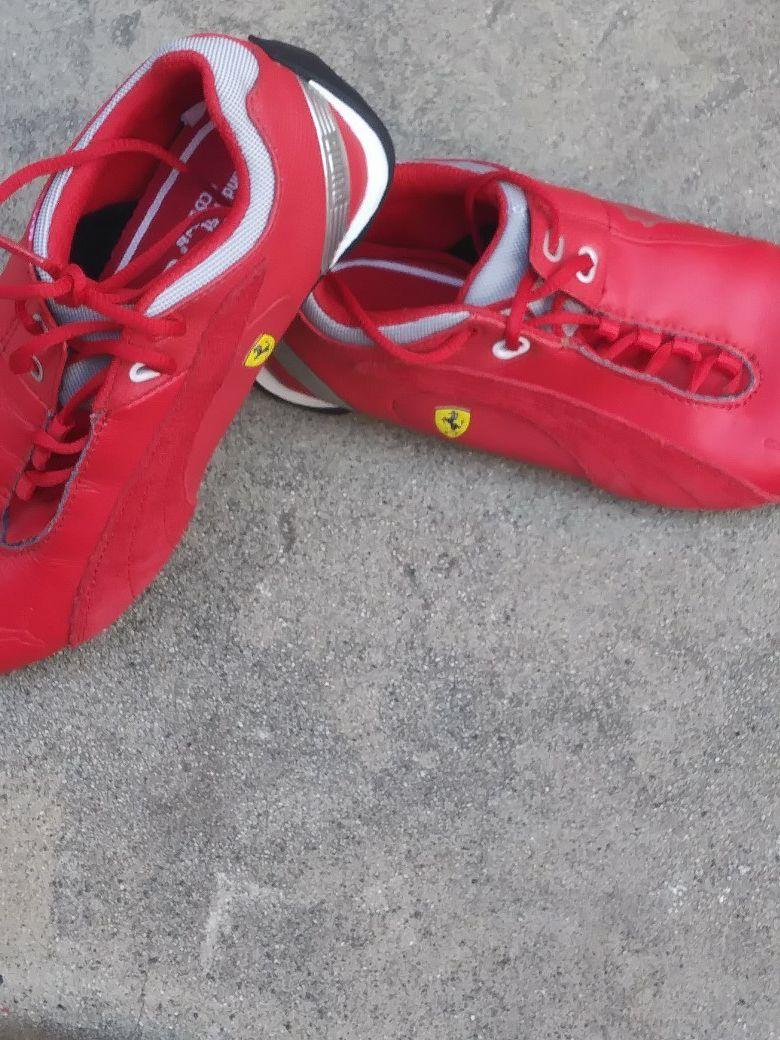Red Ferrari/Puma Original Shoes