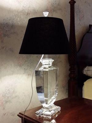 Restoration Hardware Optical Grade Crystal Vase Style Lamp for Sale in Dulles, VA