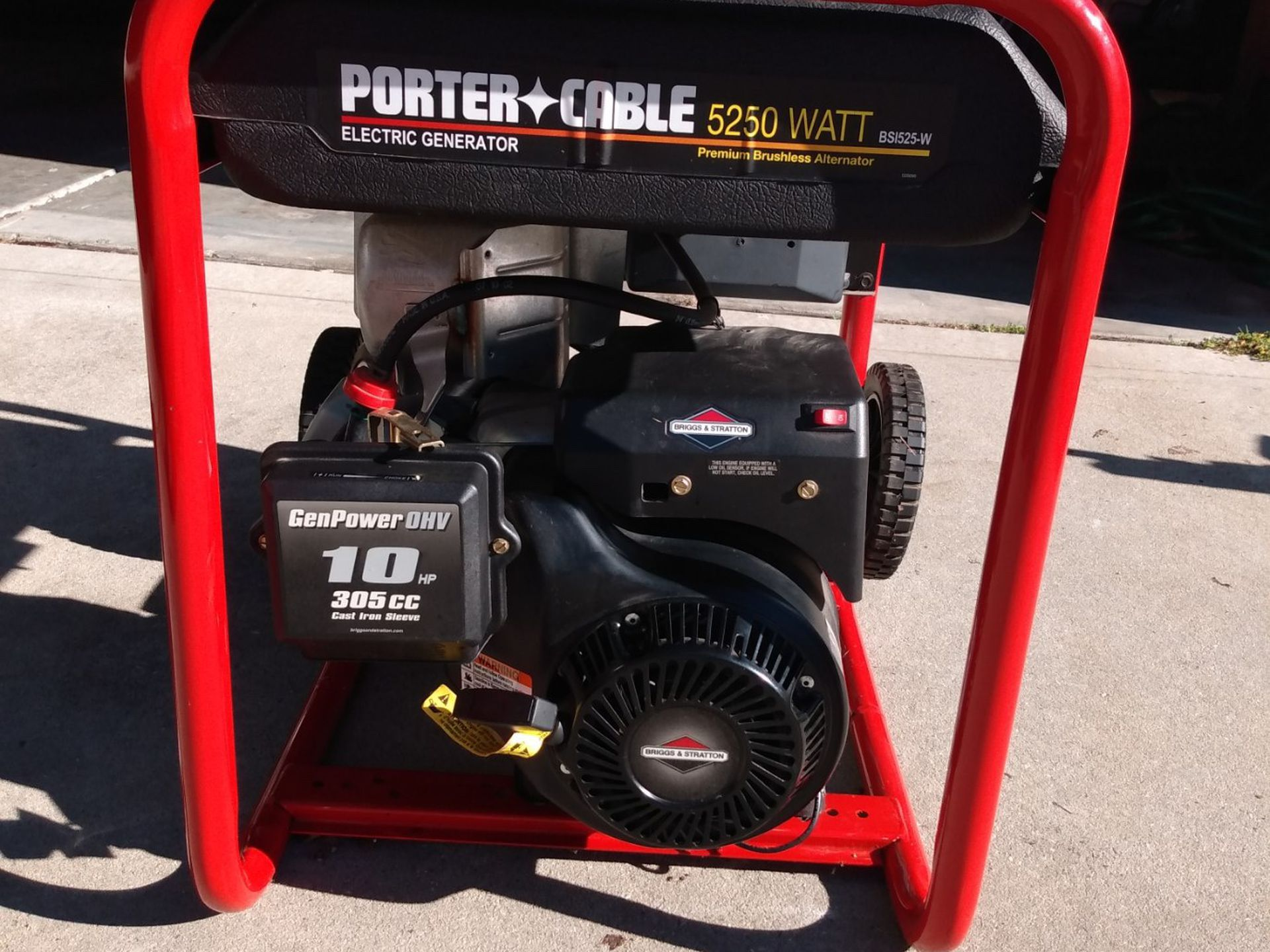 Porter Cable electric generator