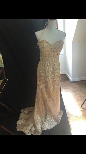 Long gold dress for Sale in Haymarket, VA