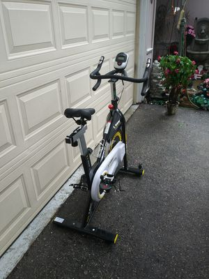 Photo Spin bike, exercise bicycle