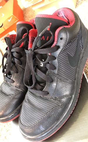 eb55b812d470 Retro Jordan 1 s red and black for Sale in San Jose
