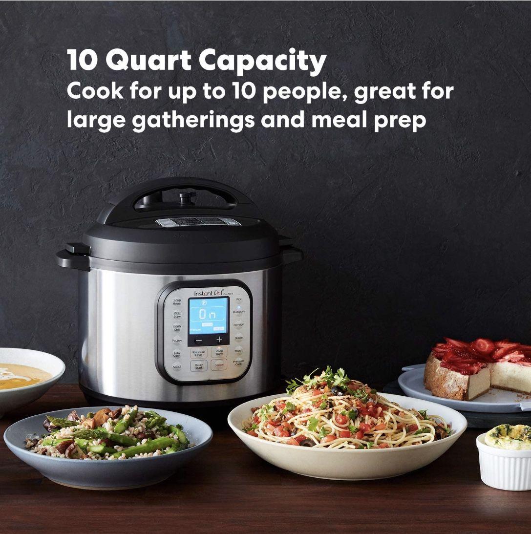Insta Pot Dup Nova 10 Qt *Brand New* Pressure Cooker