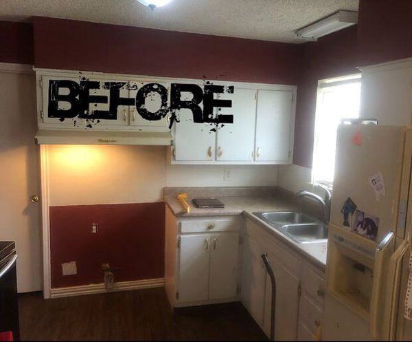 Kitchen Cabinet Installs
