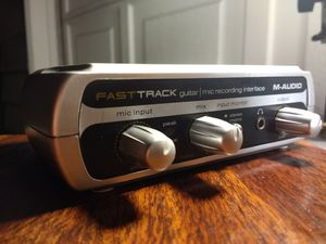 M-audio Fast track USB Interface for Sale in Edmonds, WA