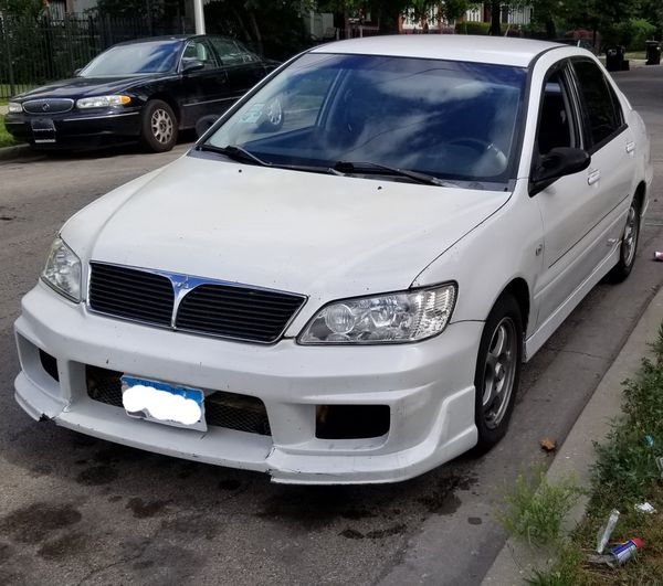2002 mitsubishi lancer oz-rally for sale in riverdale, il - offerup