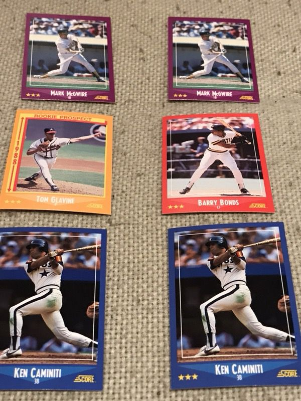 1988 Score Baseball Cards For Sale In Hoffman Estates Il Offerup