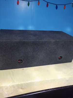 Photo Ported box for 2 12 subs