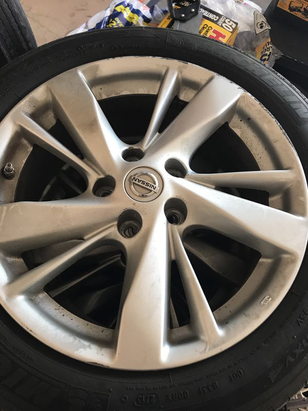 Nissan Altima Stock Wheels Trade