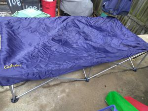Camping Twin bed frame with Bag for Sale in Baltimore, MD