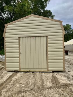 Gambrel storage shed 12x16 storage tiny house home hunting cabin Thumbnail