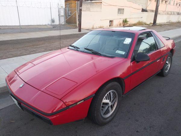86 Pontiac Fiero Ready For Lambo Ferrari Kit Car For Sale In Fresno
