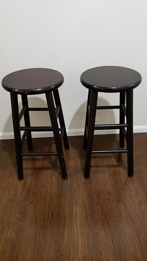 Two stools 25 in tall for Sale in Spanaway, WA