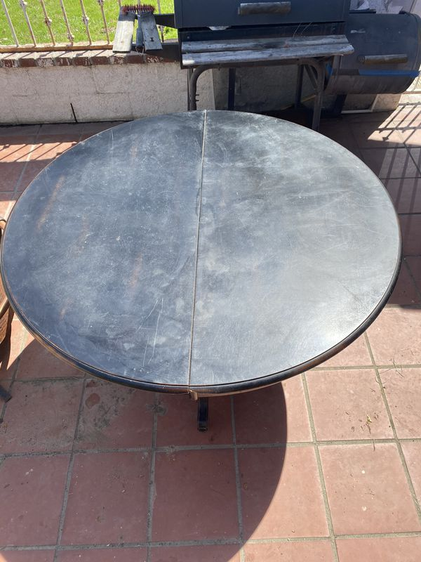 Wooden round dining kitchen table for Sale in Ontario, CA ...