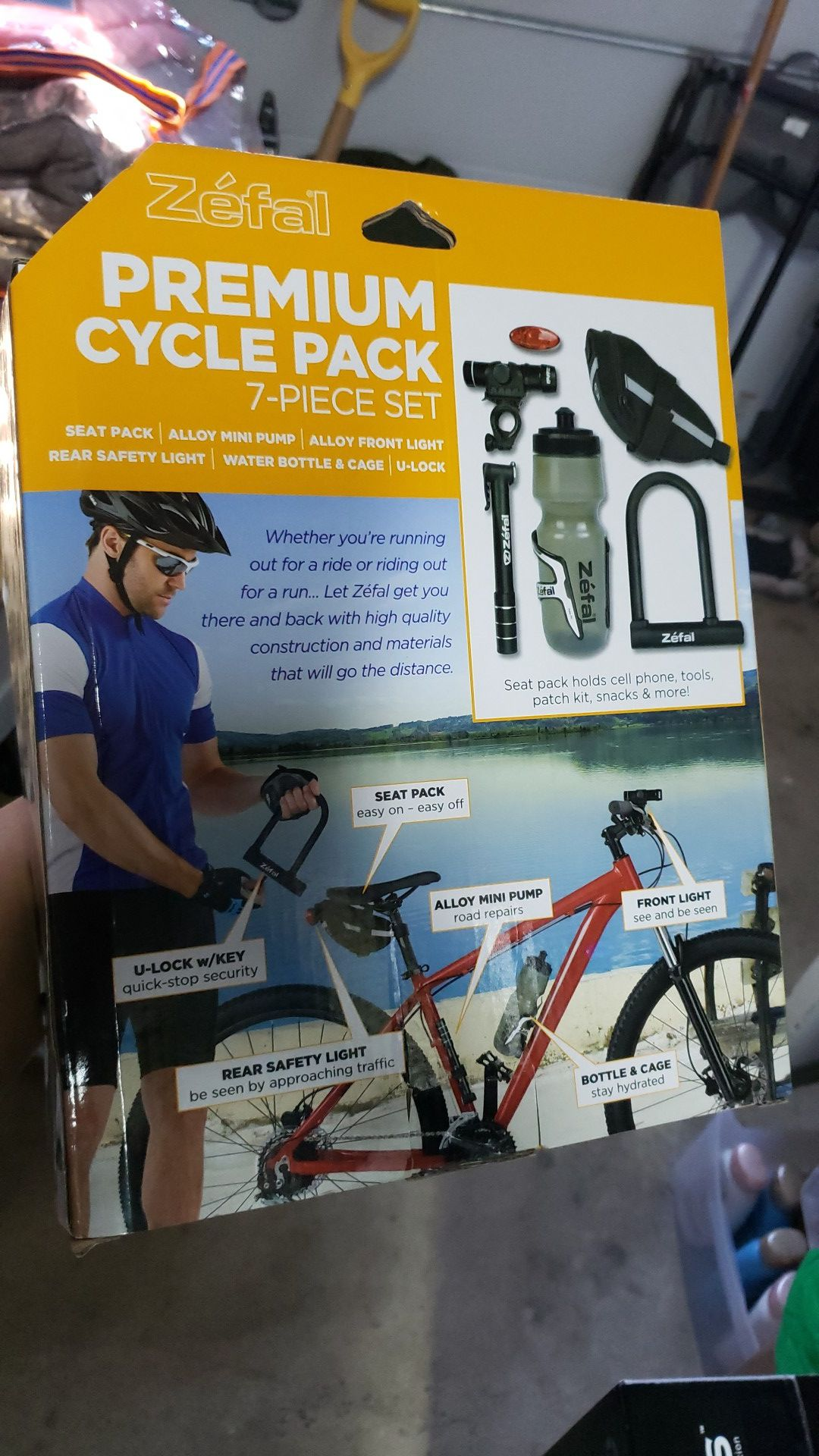 Cycle pack