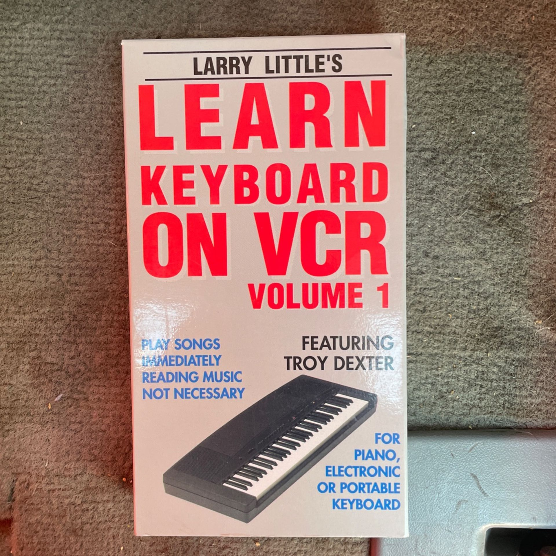 Learn To Play Keyboard VCR
