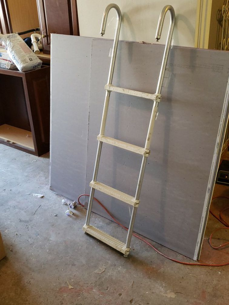 Photo Ladder For Boat Pontoon Or Pool Dock