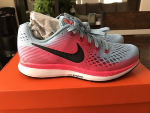 Brand New Nike Air Zoom Pegasus Running Shoe women's size 7.5 for Sale in Chula Vista, CA
