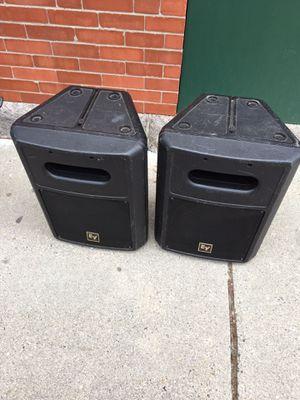 2 12 inches EV DJ speaker for Sale in Boston, MA