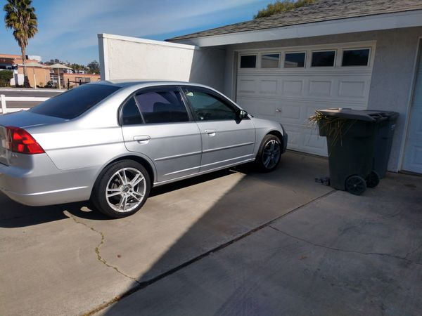 2002 Honda Civic Lx Good Condition For Sale In Corona  Ca