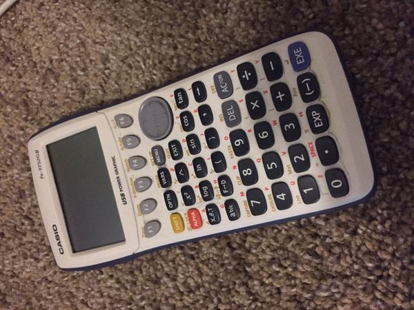 WORKING CASIO GRAPHING CALCULATOR for Sale in Surprise, AZ - OfferUp