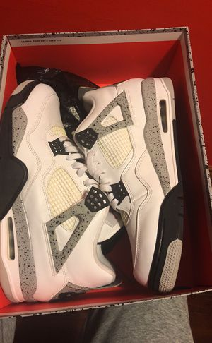 Jordan 4 retro cement Nike air 2016 release size 12 for Sale in Swissvale, PA