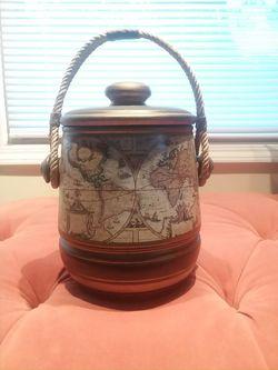 Vintage ceramic cookie jar Thumbnail