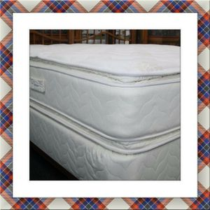 Mattress jumbo double pillowtop free box and shipping for Sale in Marlow Heights, MD