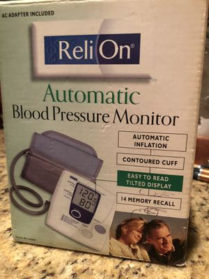 Blood pressure monitor for Sale in Hot Springs, AR