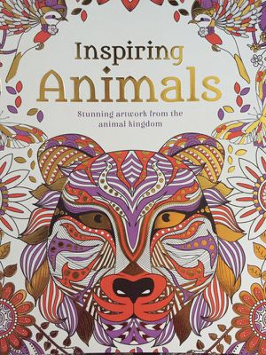 Animal Adult Coloring Book for Sale in Annandale, VA