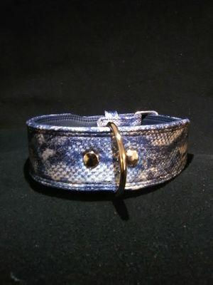 "High quality Snake print ""Dog Collar"" for Sale in Glendora, CA"