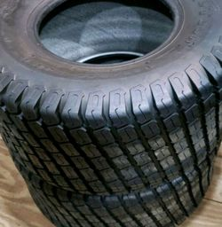 Lawn and Garden tires rear set. Thumbnail