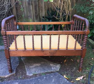 Antique crib and cradle for Sale in San Francisco, CA