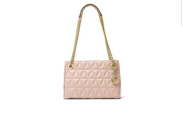 b47a5a616876 NWT Michael Kors MK Soft Pink Leather Medium Scarlett QUILTED Messenger  Purse $328 PRESENT GIFT for Sale in Garden Grove, CA - OfferUp